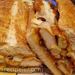 Chicken, Artichoke Heart, and Parmesan Sandwiches