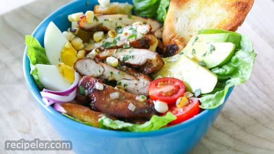 Chicken Avocado Bacon Salad