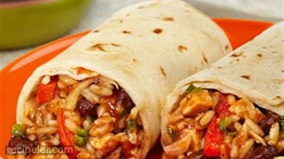 Chicken & Black Bean Burritos
