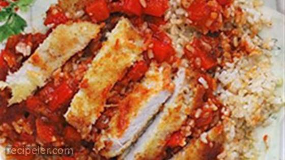 Chicken Cacciatore Rice Bowl