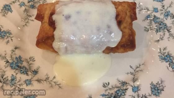 Chicken Cordon Bleu Egg Rolls