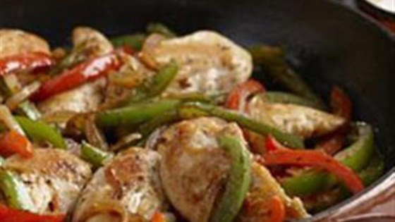 chicken fajitas from mazola®