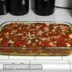 Chicken, Mushroom, and Polenta Lasagna