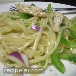 Chicken Poppy Seed Pasta Salad