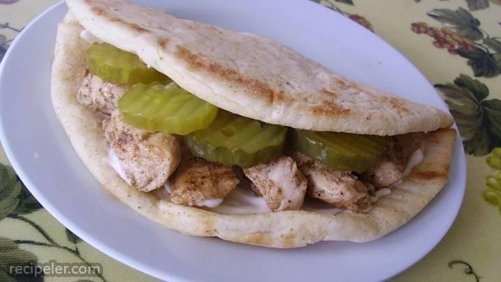 chicken shawarmas