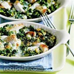 Chicken-Spinach Casserole