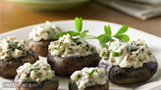 Chicken-Stuffed Mushrooms