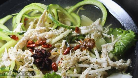 Chicken Zoodle Pho