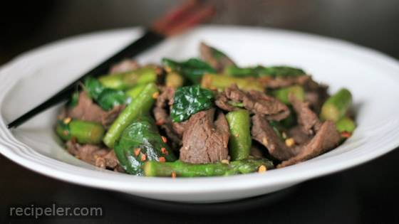 Chile Beef Stir-Fry
