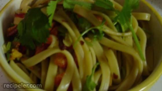 Chinese Cold Pasta Salad