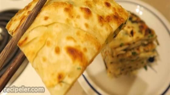 Chinese Green Onion Pancake