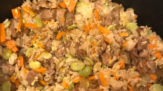 chinese pork fried rice