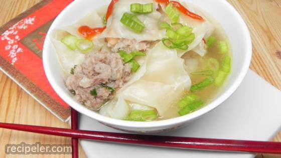 Chinese Shrimp Wonton