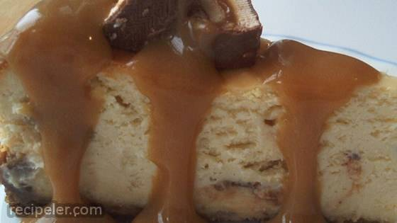 chocolate caramel nut cheesecake