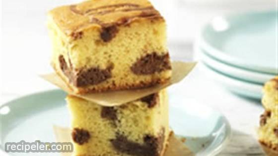 Chocolate Cheesecake Blondies