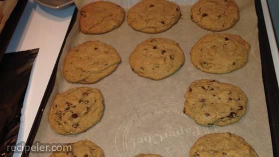 Chocolate Chip Coffee Cookies