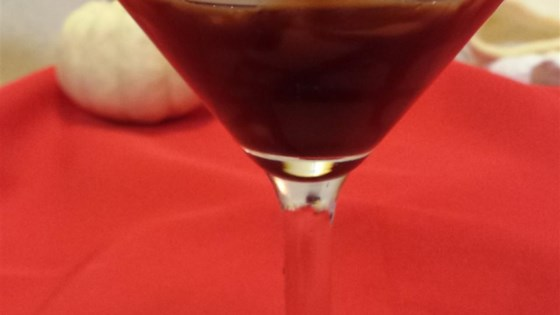 chocolate-covered cherry martini