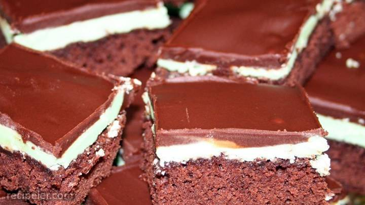 chocolate mint dessert brownies