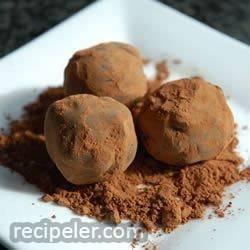 Chocolate Orange Truffles