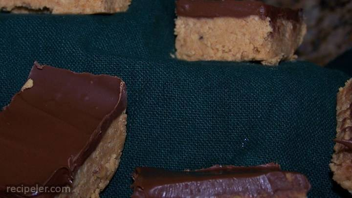 Chocolate Peanut Butter Bars V