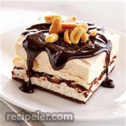 Chocolate Peanut Butter ce Cream Sandwich Dessert
