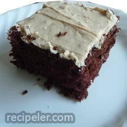 Chocolate Peanut Butter Wacky Cake