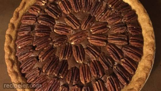 Chocolate Pecan Pie V