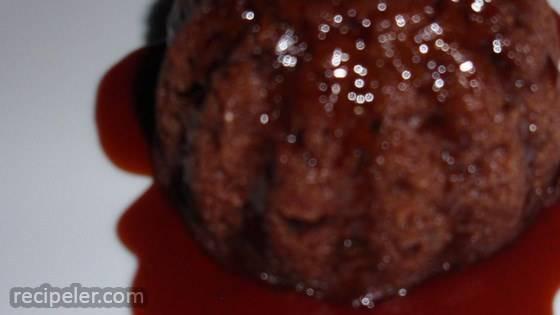 Chocolate Plum Pudding Cake