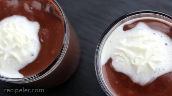 Chocolate Tahini Pudding