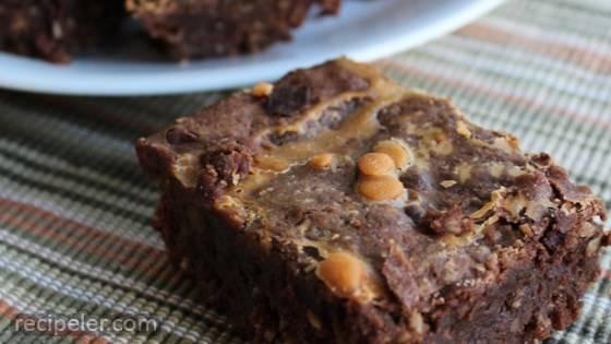 Chocolaty Oatmeal Brownies