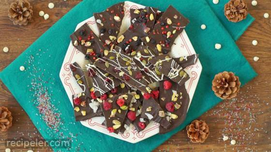 Christmas Chocolate Bark 3 Ways: White Chocolate, Cranberry, and Pumpkin Seed Bark