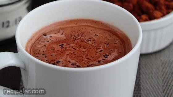 Christmas Morning Hot Chocolate