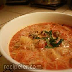 Chunky Tomato Potato Soup