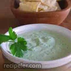 cilantro serrano cream sauce
