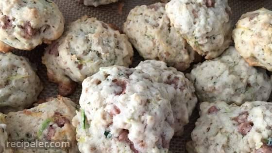 Cinnamon Oatmeal Zucchini Cookies