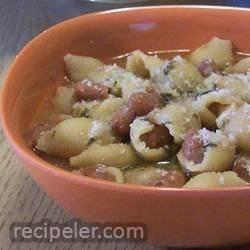 Classic talian Pasta e Fagioli