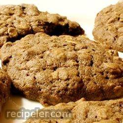 Cocoa Oatmeal Cookies