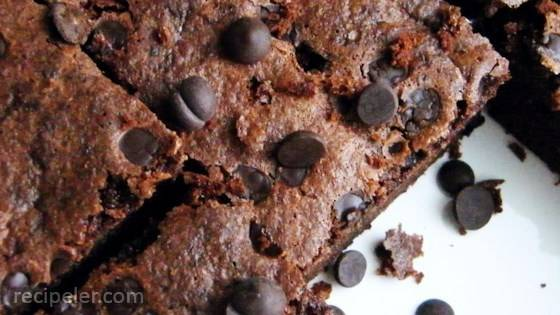 Coconut Flour Chocolate Brownies
