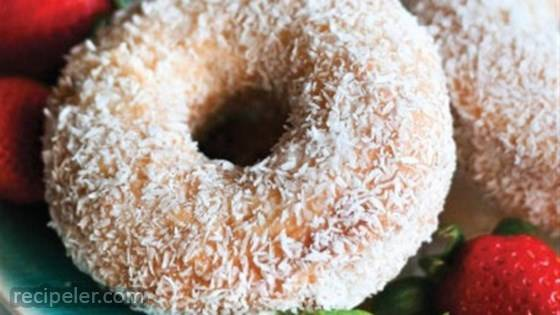 Coconut Vanilla Doughnuts