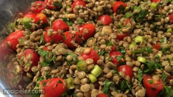 Cold Lentil Salad