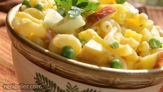 Cold Tropical Macaroni Salad