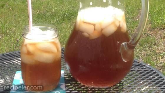 Cool Rhubarb ced Tea