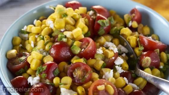Corn & Cherry Tomato Salad