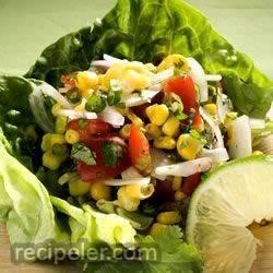Corn, Sweet Onion, and Tomato Salad