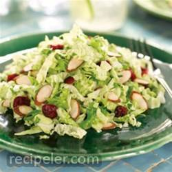 Cranberry Almond Crunch Slaw