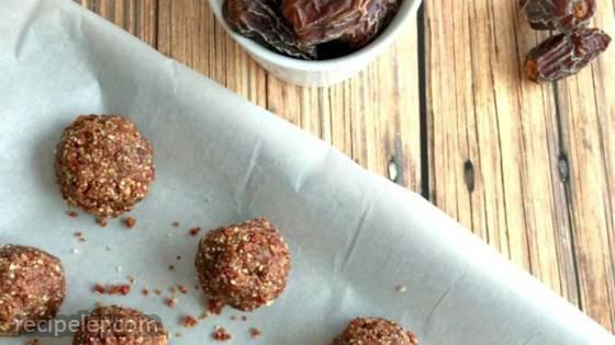 Cranberry Almond Snack Bites