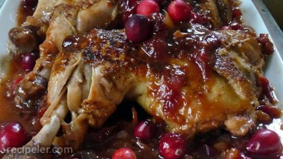 Cranberry BBQ Chicken