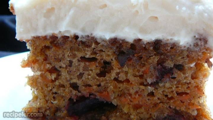 cranberry carrot cake