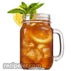Cranberry Orange ced Tea
