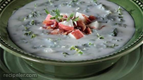 Creamy and Crunchy Potato Soup